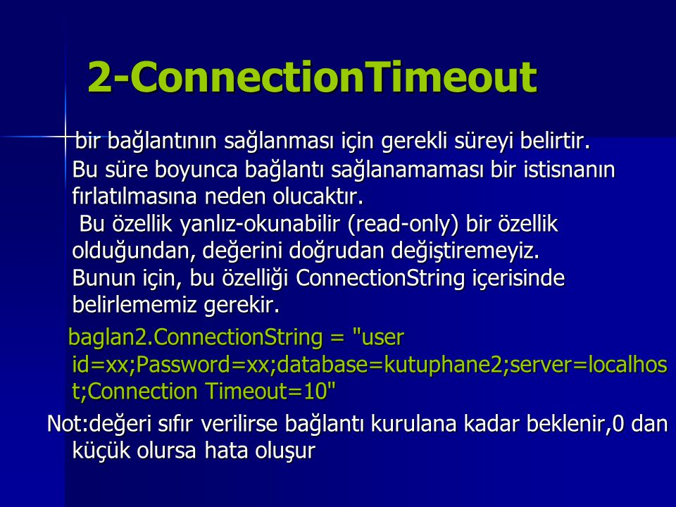 2-ConnectionTimeout