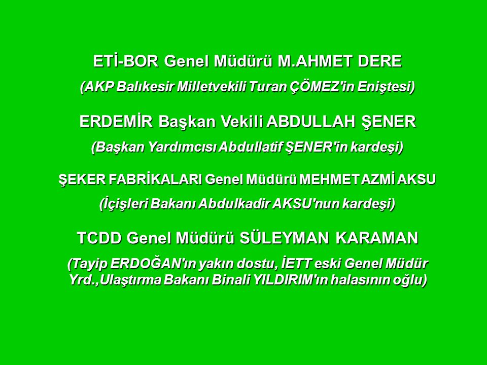 ETİ-BOR Genel Müdürü M.AHMET DERE