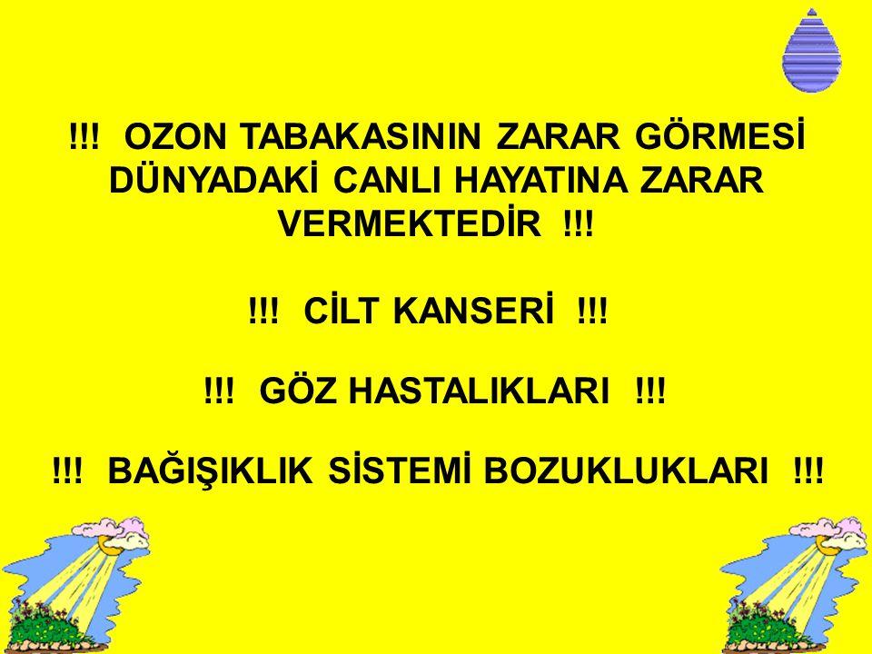 !!! BAĞIŞIKLIK SİSTEMİ BOZUKLUKLARI !!!
