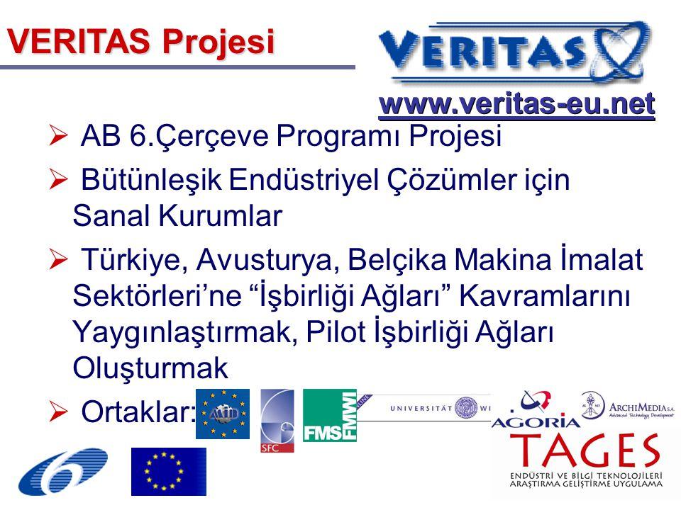 VERITAS Projesi www.veritas-eu.net AB 6.Çerçeve Programı Projesi