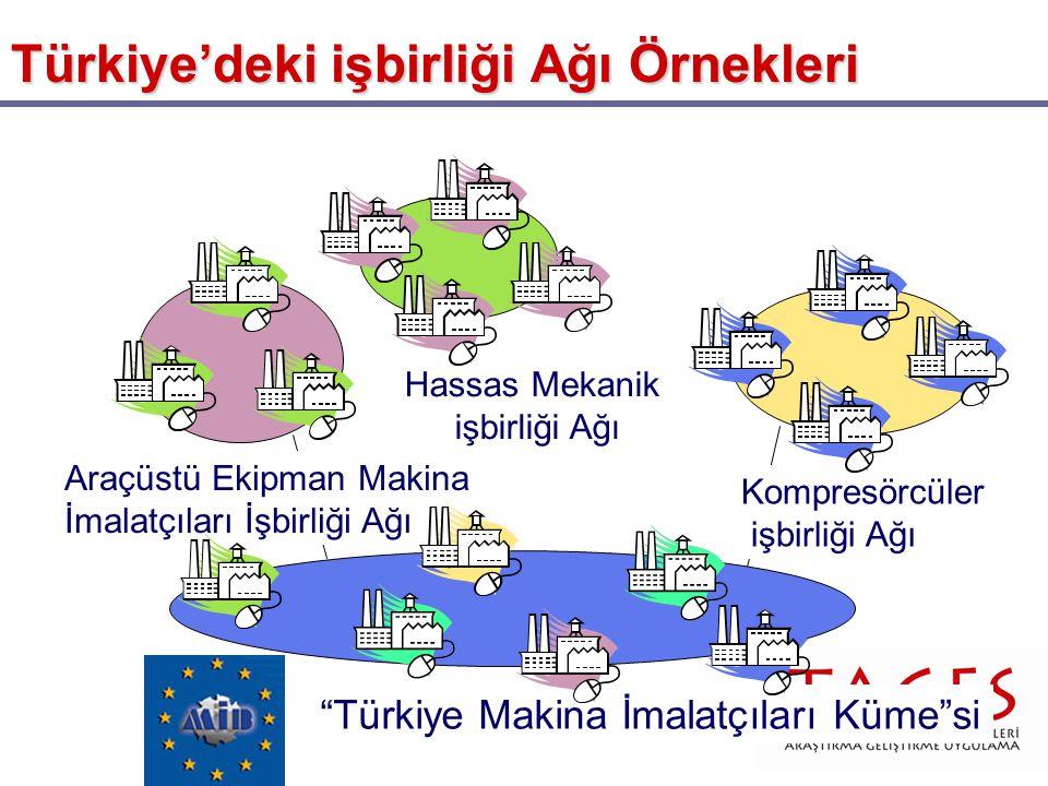 Türkiye'deki işbirliği Ağı Örnekleri