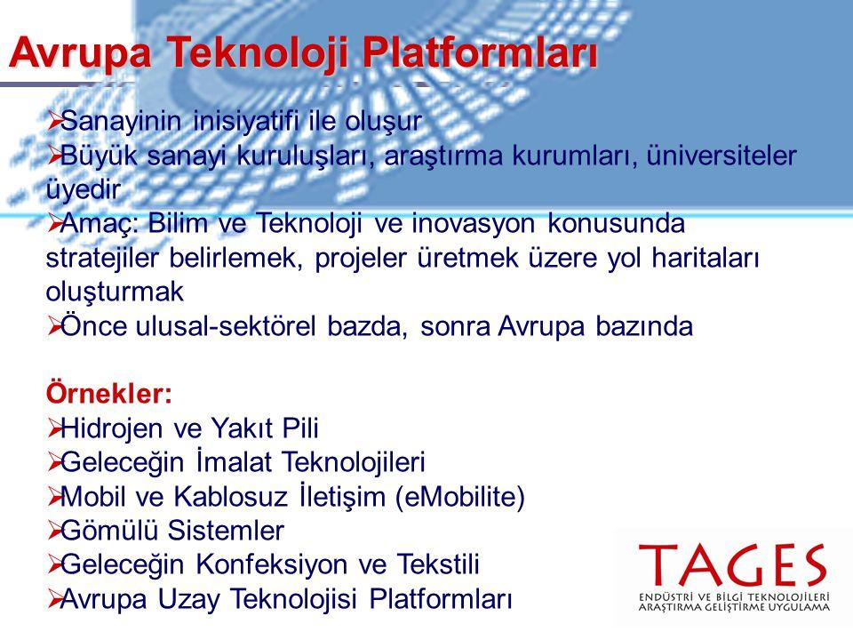 Avrupa Teknoloji Platformları