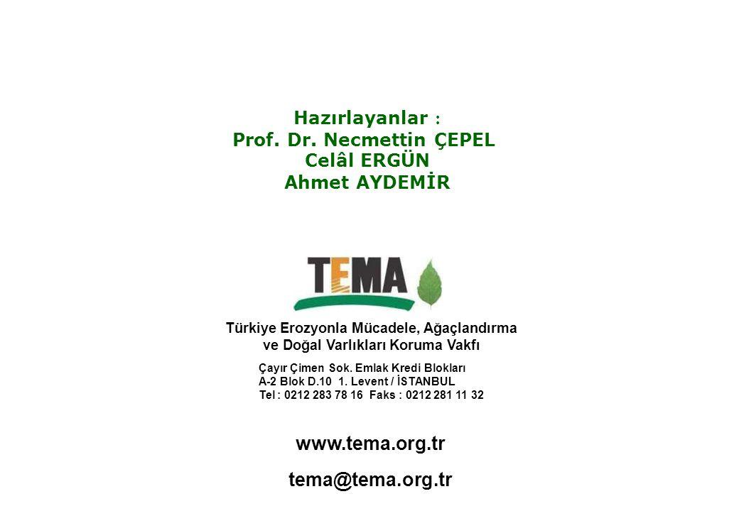 www.tema.org.tr tema@tema.org.tr Hazırlayanlar :