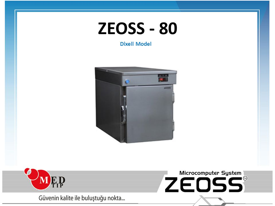 ZEOSS - 80 Dixell Model AXSS XS - 80