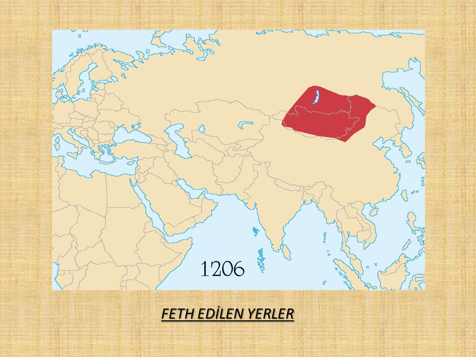 FETH EDİLEN YERLER