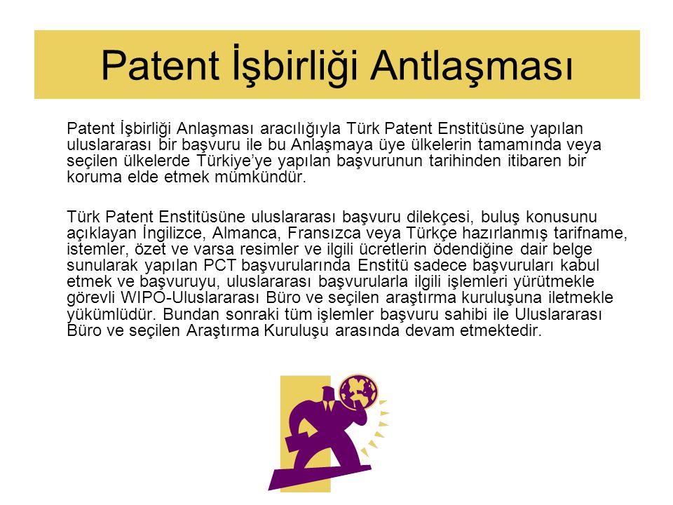 Patent İşbirliği Antlaşması