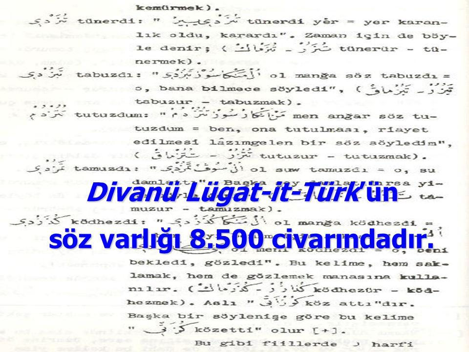 Divanü Lügat-it-Türk'ün