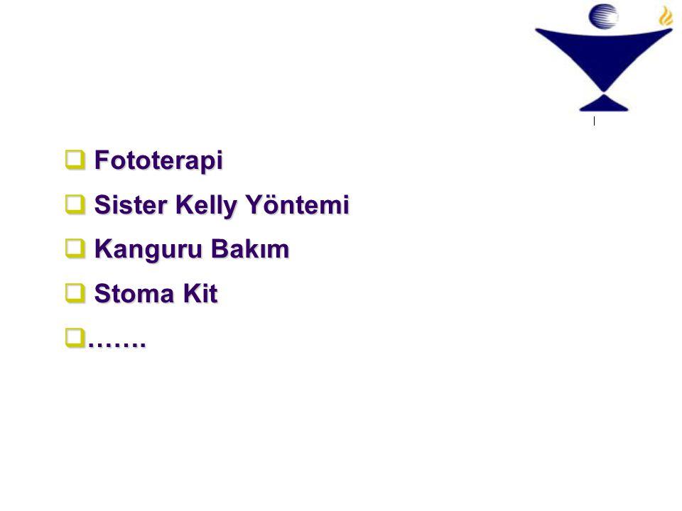 Fototerapi Sister Kelly Yöntemi Kanguru Bakım Stoma Kit …….