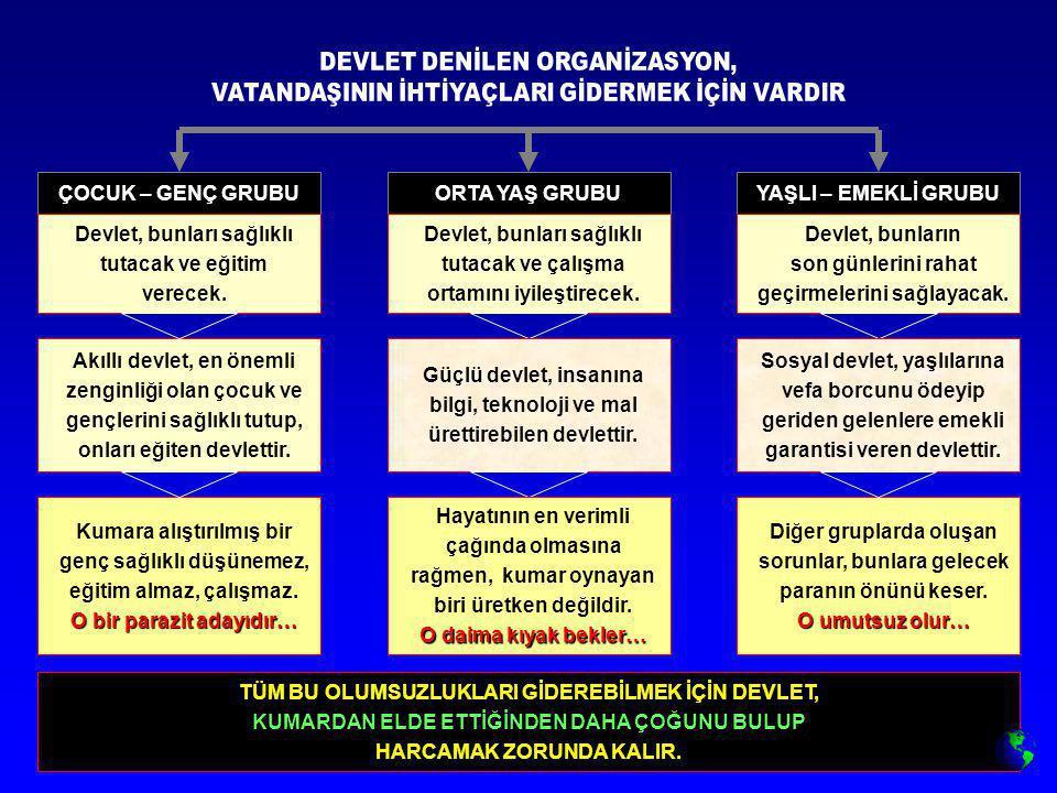 DEVLET DENİLEN ORGANİZASYON,