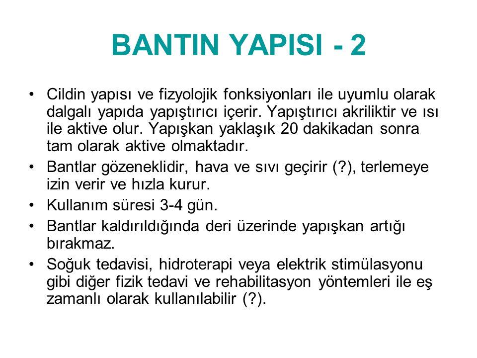 BANTIN YAPISI - 2