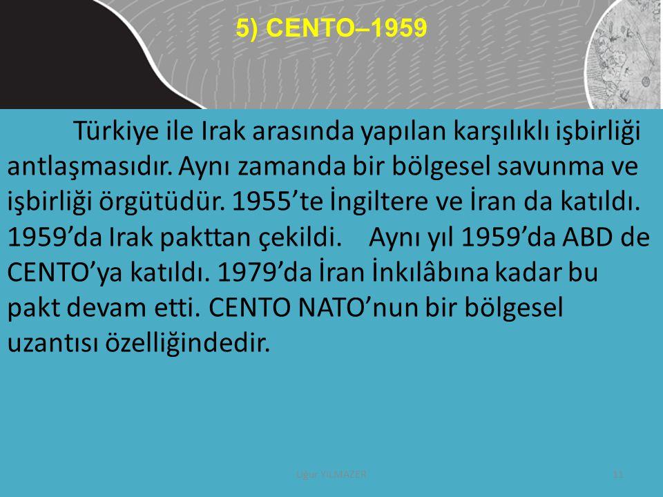 5) CENTO–1959