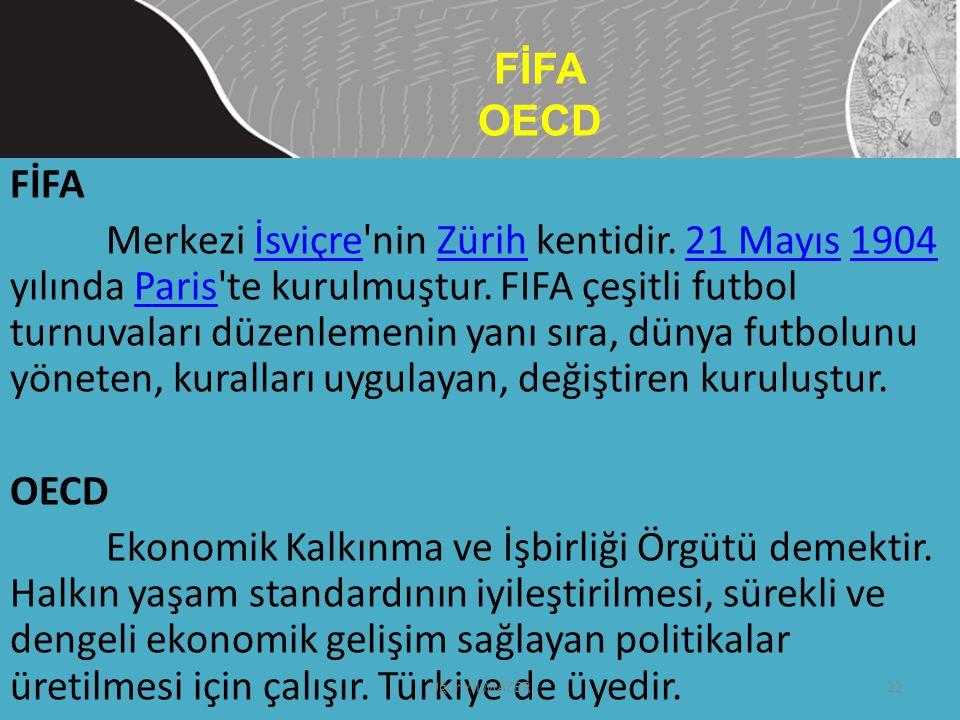 FİFA OECD FİFA.