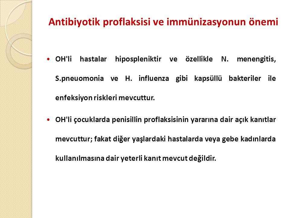 Antibiyotik proflaksisi ve immünizasyonun önemi