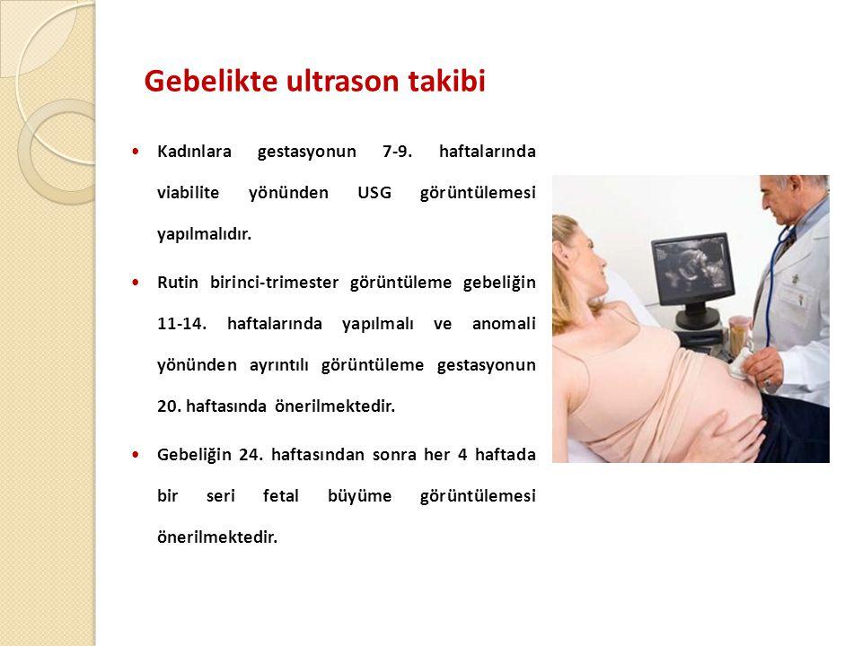 Gebelikte ultrason takibi