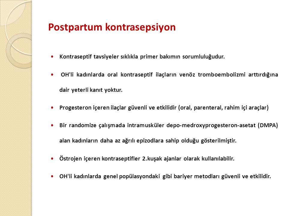 Postpartum kontrasepsiyon