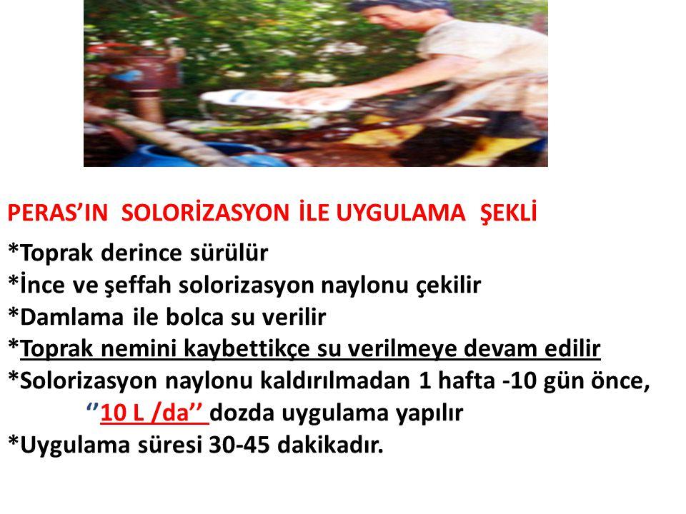 PERAS'IN SOLORİZASYON İLE UYGULAMA ŞEKLİ