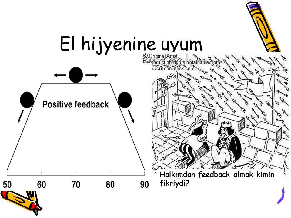 El hijyenine uyum Halkımdan feedback almak kimin fikriydi