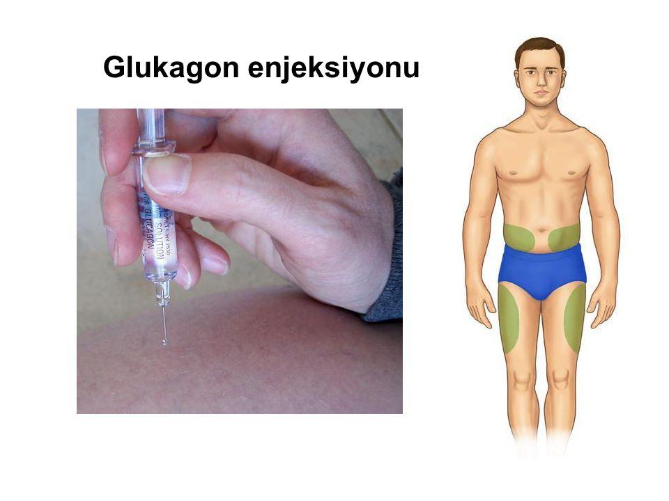 Glukagon enjeksiyonu