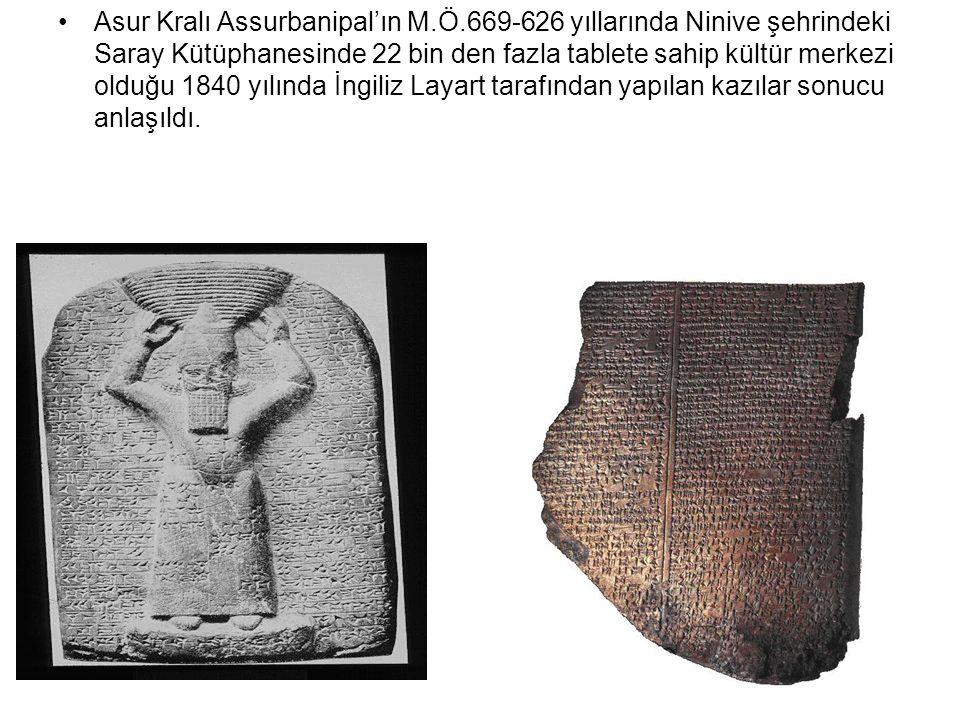 Asur Kralı Assurbanipal'ın M. Ö