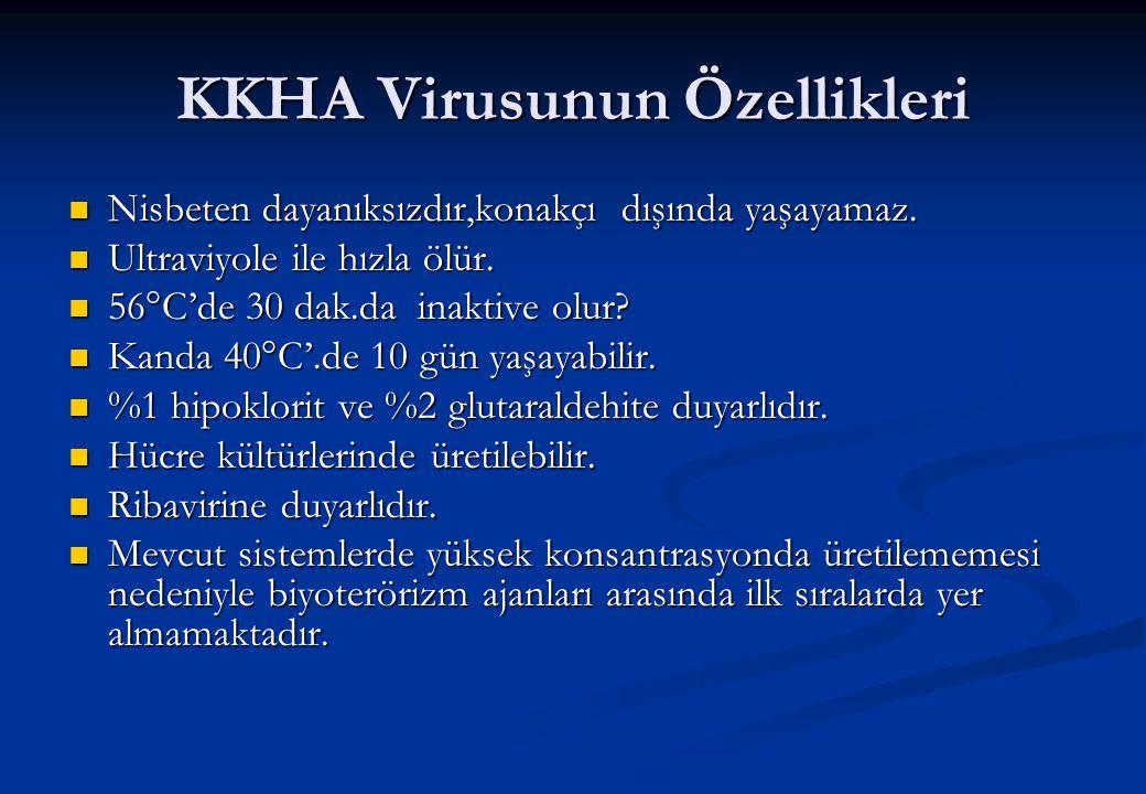 KKHA Virusunun Özellikleri