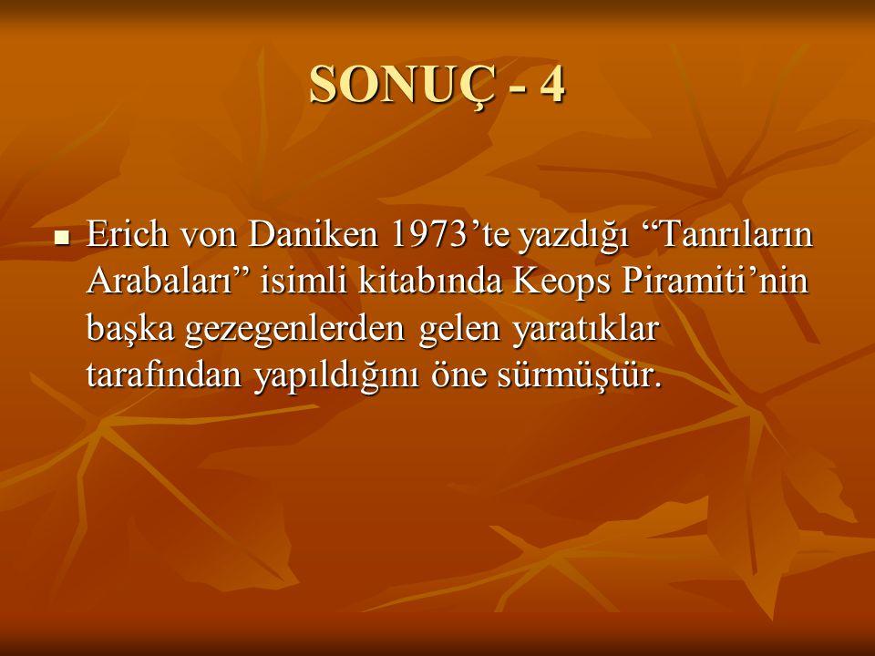 SONUÇ - 4