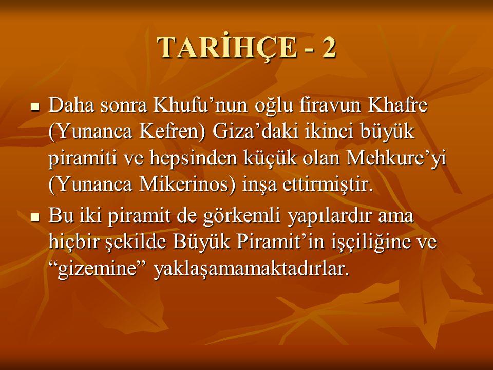 TARİHÇE - 2