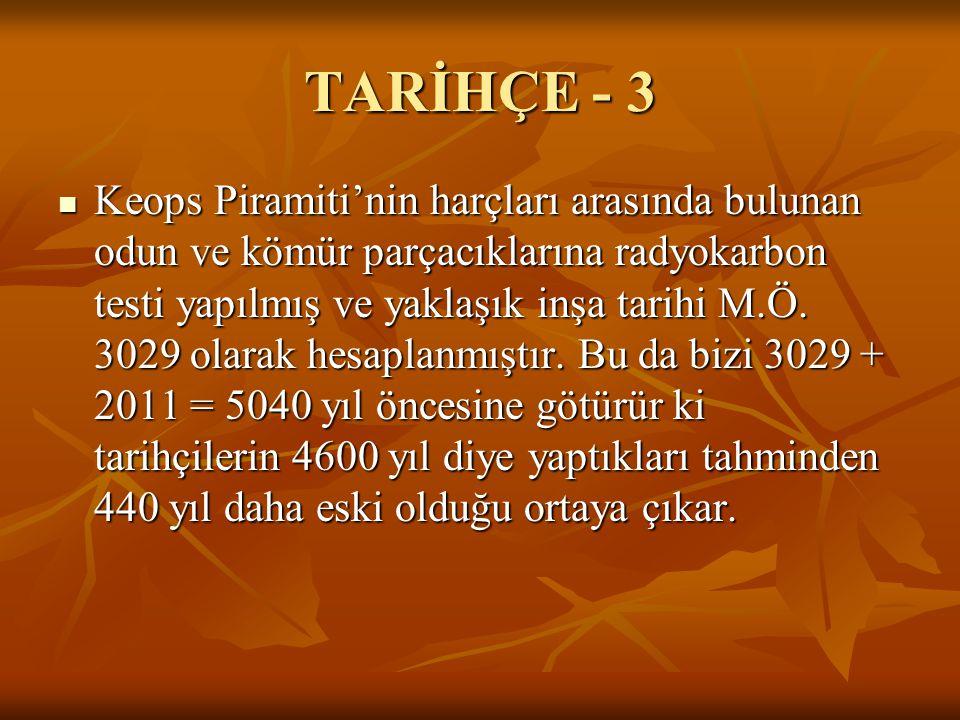 TARİHÇE - 3