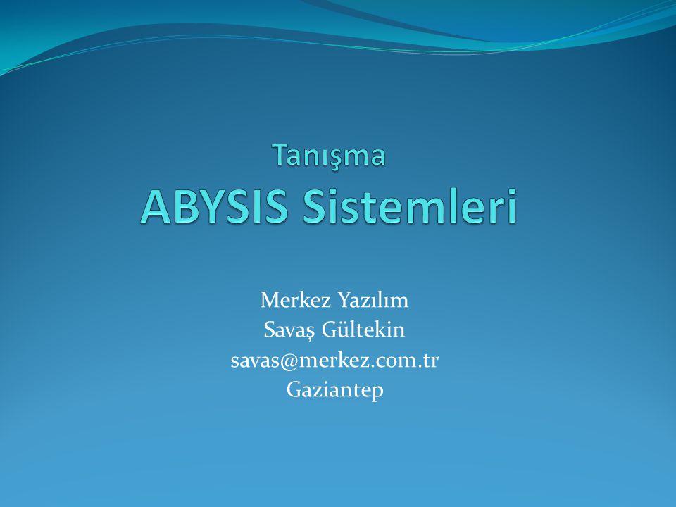 Tanışma ABYSIS Sistemleri