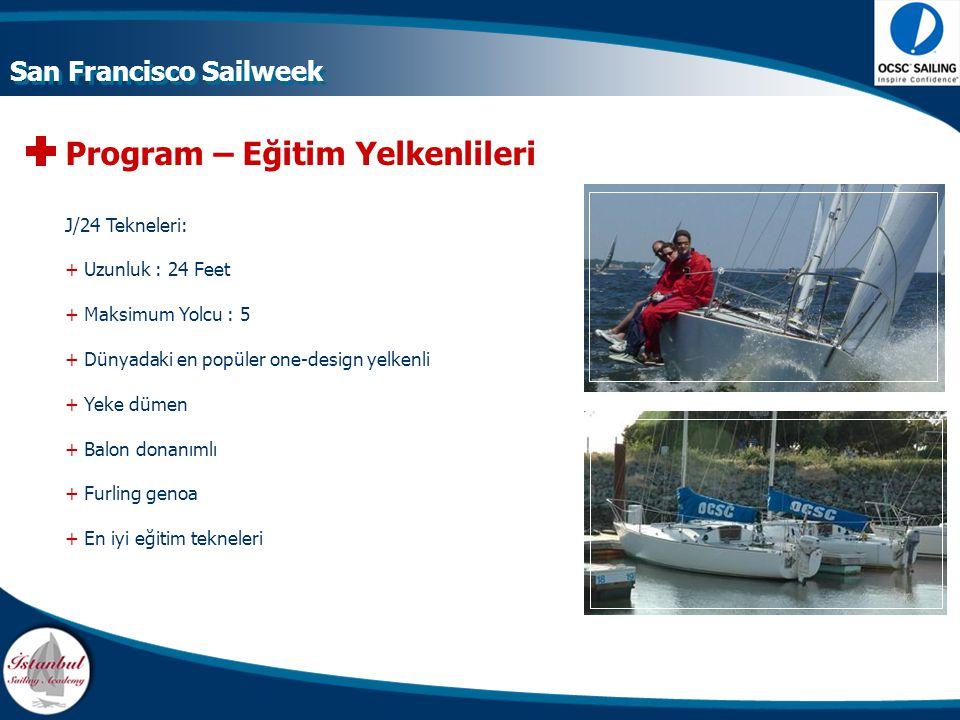 Program – Eğitim Yelkenlileri