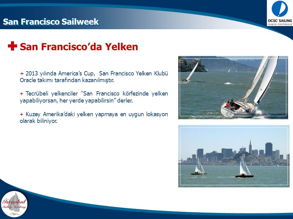 San Francisco'da Yelken