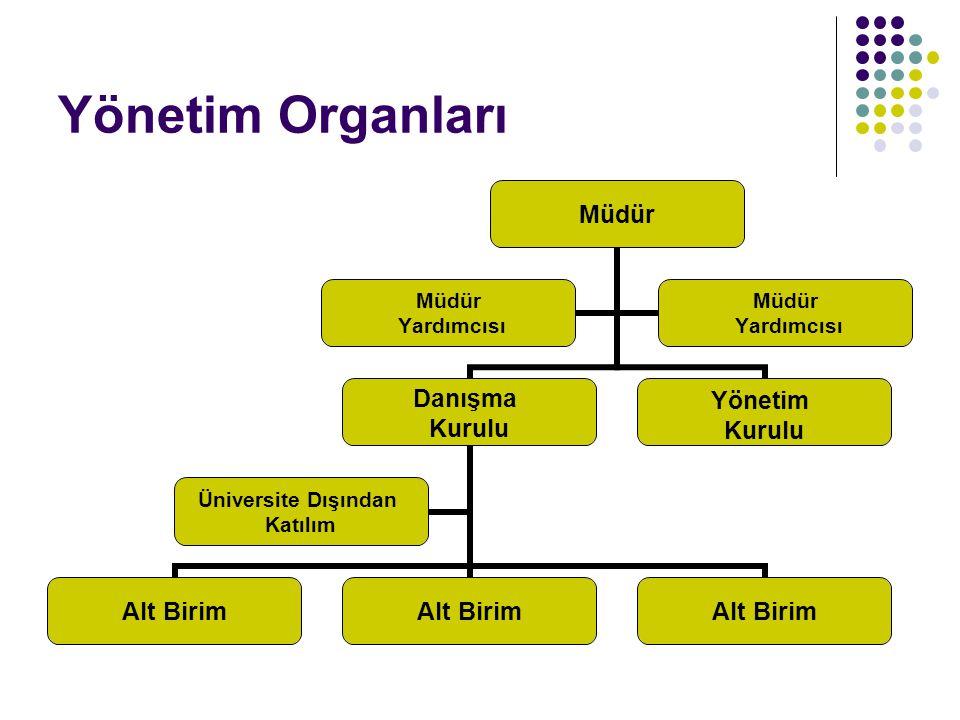 Yönetim Organları