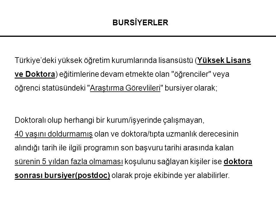 BURSİYERLER