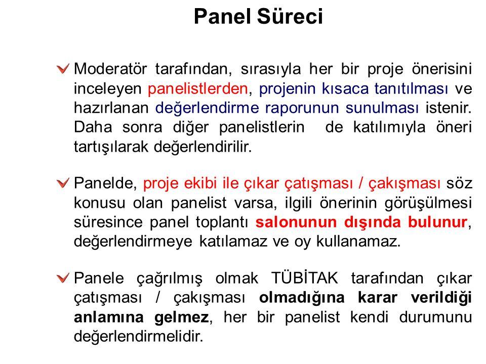26/03/09 Panel Süreci.