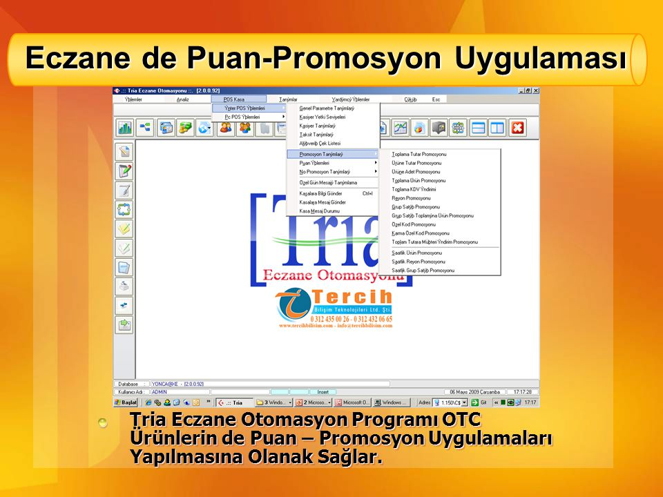 Eczane de Puan-Promosyon Uygulaması