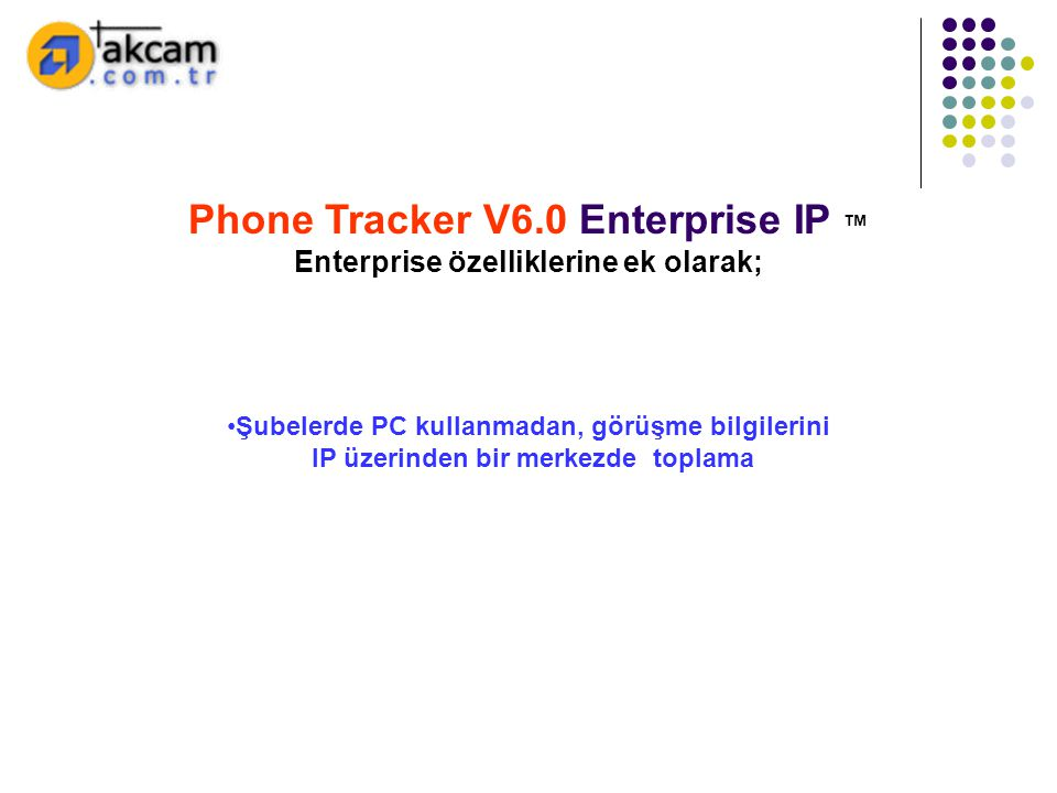 Phone Tracker V6.0 Enterprise IP ™
