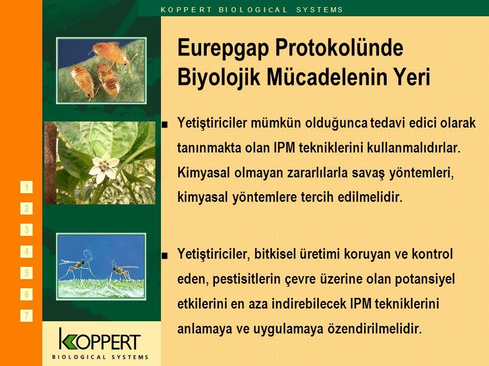 Eurepgap Protokolünde Biyolojik Mücadelenin Yeri