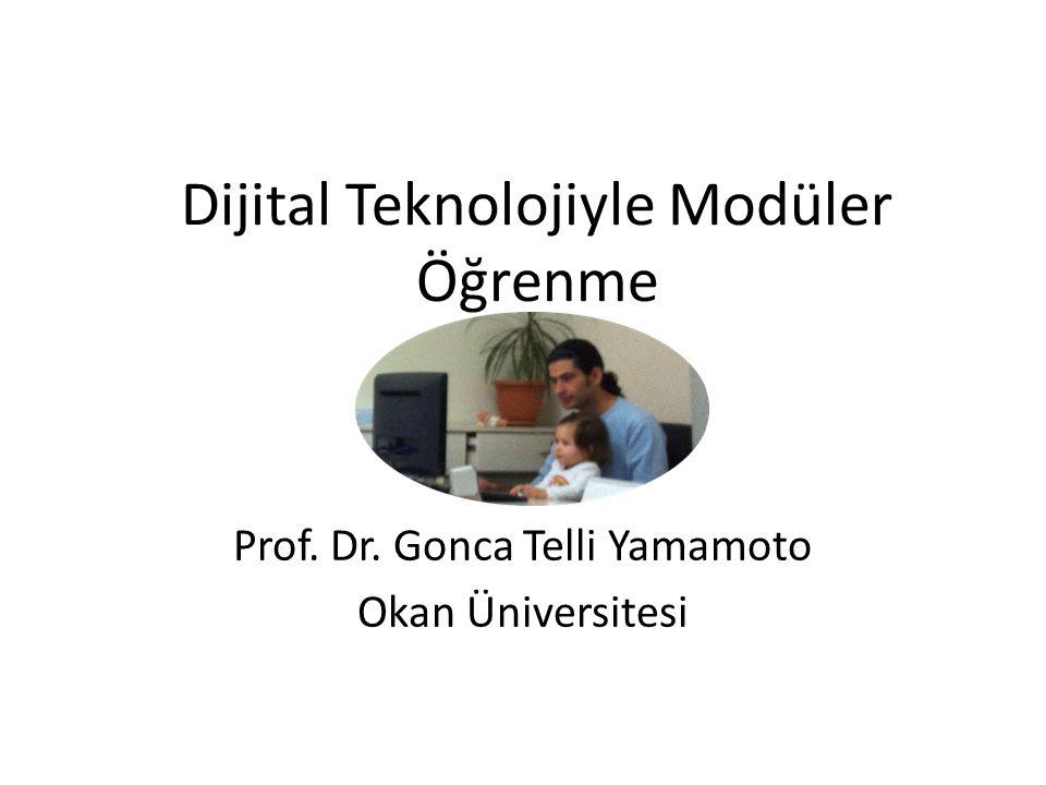 Dijital Teknolojiyle Modüler Öğrenme