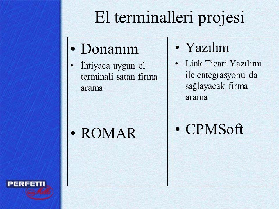 El terminalleri projesi