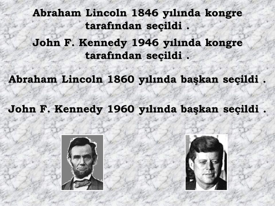 Abraham Lincoln 1846 yılında kongre tarafından seçildi .