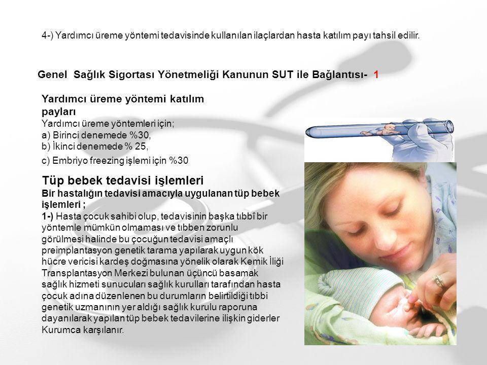 Tüp bebek tedavisi işlemleri