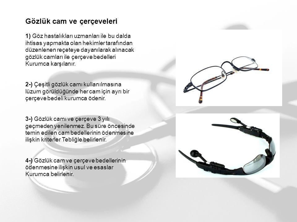 Gözlük cam ve çerçeveleri
