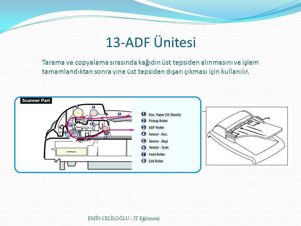 13-ADF Ünitesi
