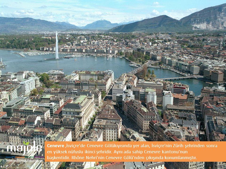 Cenevre ,İsviçre de Cenevre Gölükıyısında yer alan, İsviçre nin Zürih şehrinden sonra en yüksek nüfuslu ikinci şehridir.