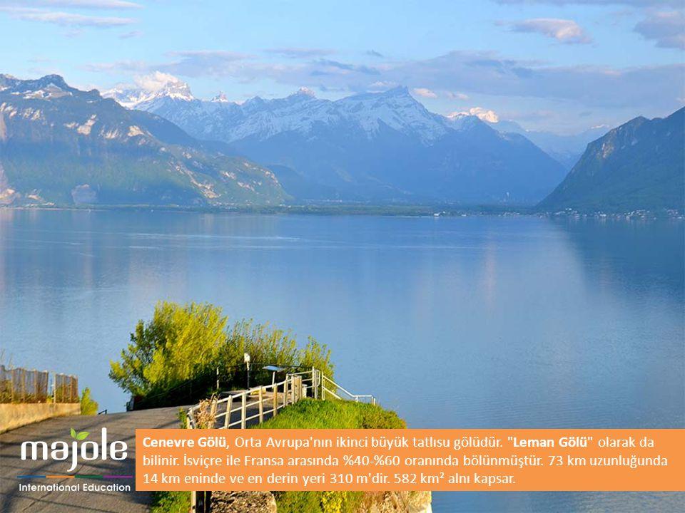 Cenevre Gölü, Orta Avrupa nın ikinci büyük tatlısu gölüdür