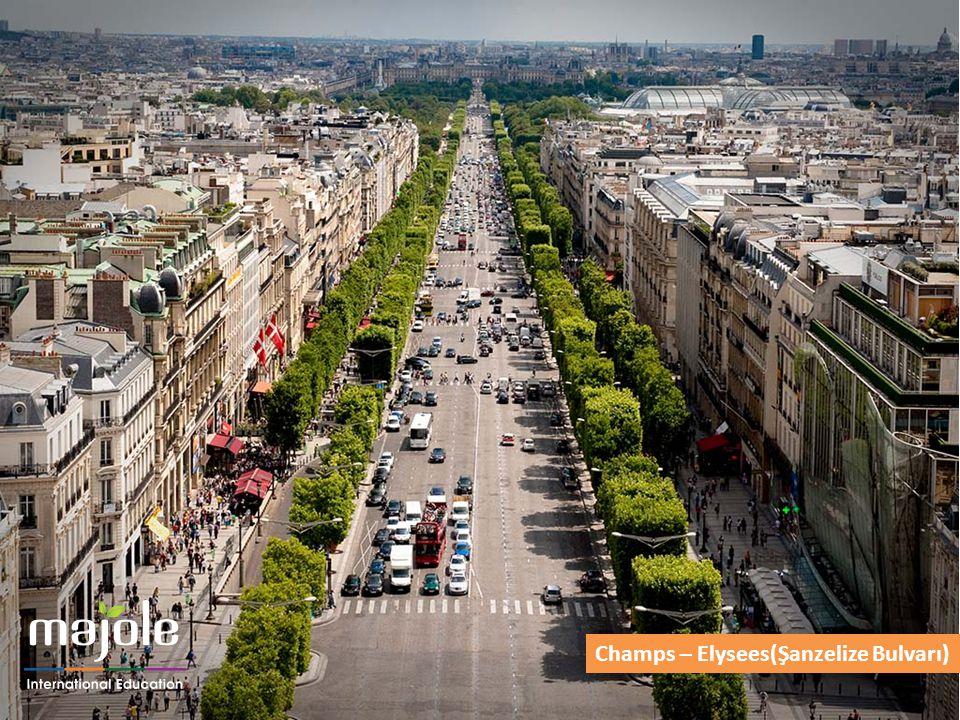 Champs – Elysees(Şanzelize Bulvarı)
