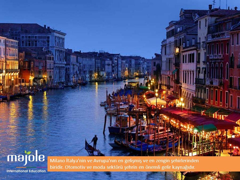 Milano İtalya nin ve Avrupa nın en gelişmiş ve en zengin şehirlerinden biridir. Otomotiv ve moda sektörü şehrin en önemli gelir kaynağıdır.