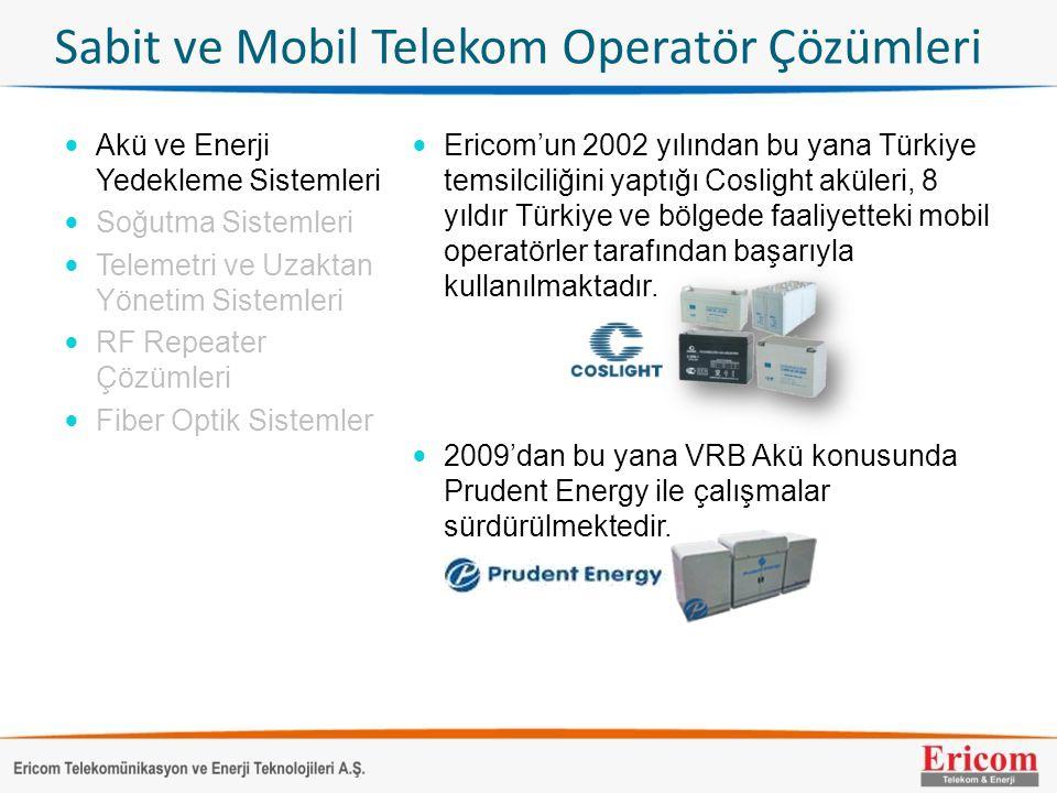 Sabit ve Mobil Telekom Operatör Çözümleri