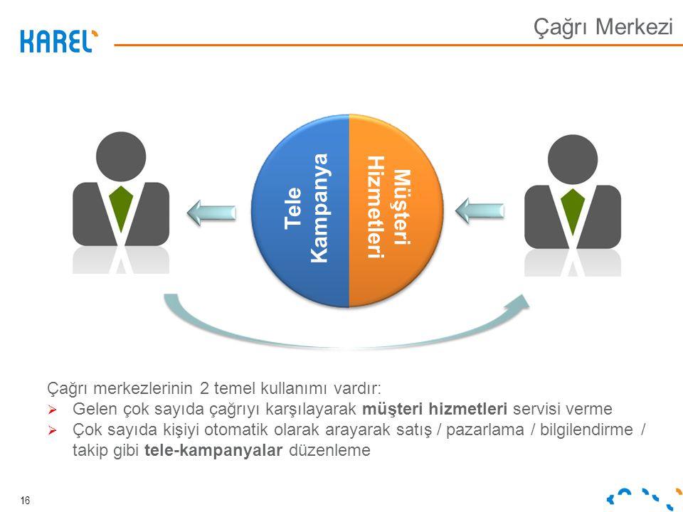 Çağrı Merkezi Tele Kampanya Müşteri Hizmetleri