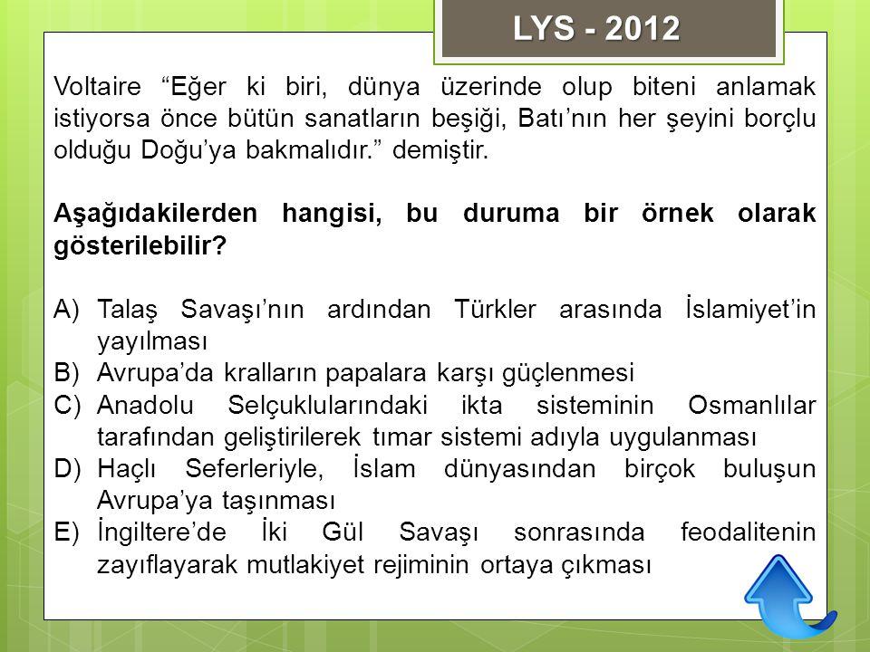 LYS - 2012
