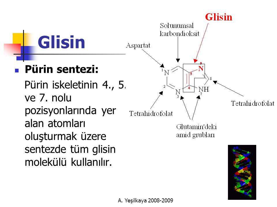 Glisin Pürin sentezi: